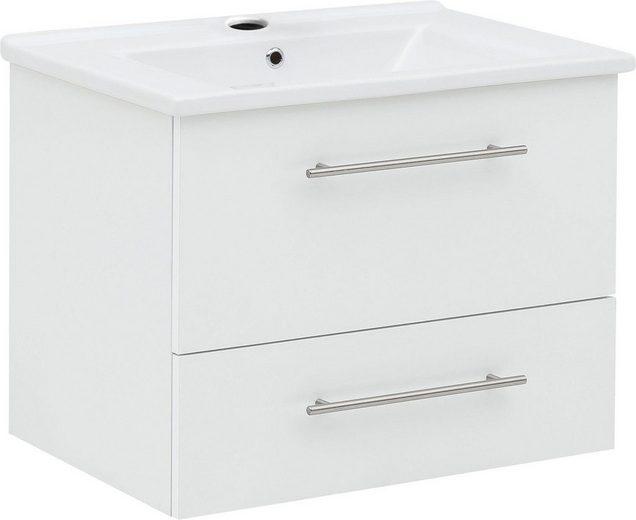 Schildmeyer Waschtisch »Basic«, mit Keramikbecken