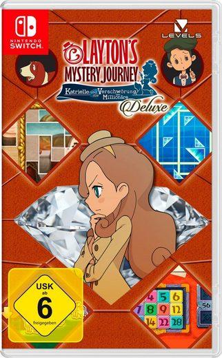 Layton's Mystery Journey: Katrielle und die Verschwörung der Millionäre Deluxe Nintendo Switch