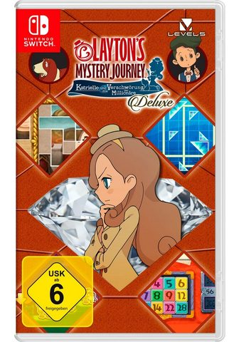 NINTENDO SWITCH Layton's Mystery Journey: Katrielle ir...