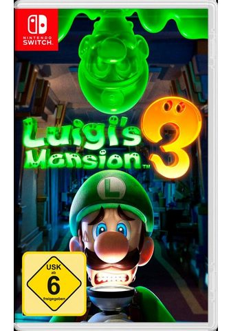 NINTENDO SWITCH Luigi's Mansion 3 Nintendo Šakotuvas