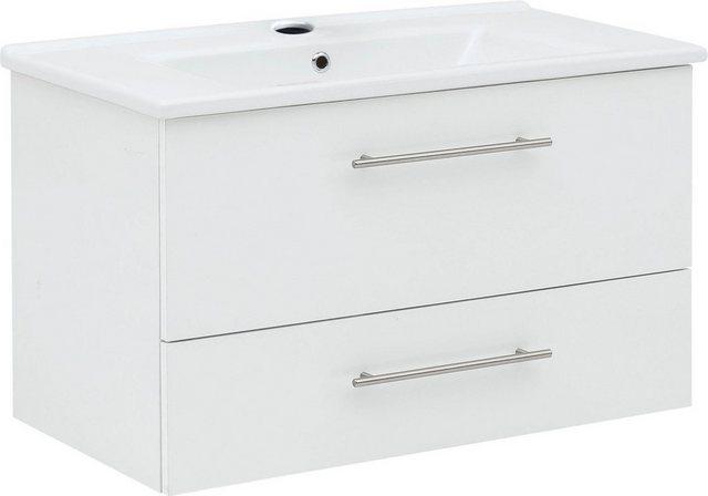 Waschtische - Schildmeyer Waschtisch »Basic«, mit Keramikbecken  - Onlineshop OTTO