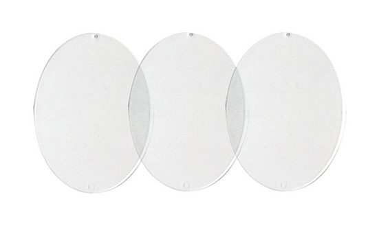 Acryl-Malscheiben »Ei«, ca.8 cm »Acryl-Malscheiben »Ei«, ca.8 cm«