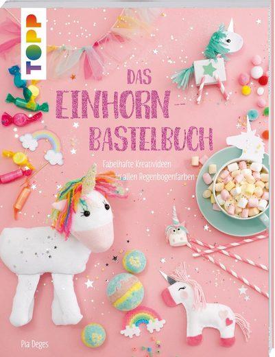 "TOPP Kreativ Buch ""Das Einhorn Bastelbuch"" 64 Seiten »Buch ""Das Einhorn Bastelbuch"" 64 Seiten«"