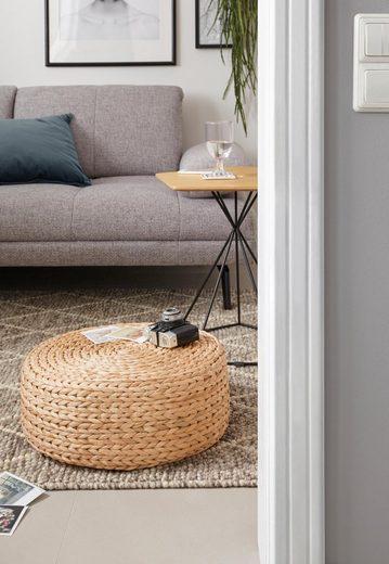 COUCH♥ Sitzwürfel, aus Wasserhyazinthe, COUCH Lieblingsstücke