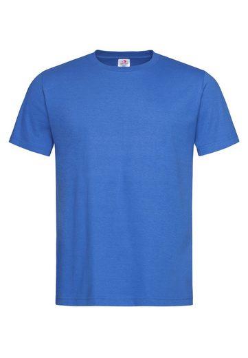 Stedman Rundhals-Shirt in einfarbiger Optik