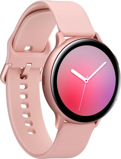 Smartwatches - Samsung Galaxy Watch Active2 Aluminium, 44 mm, Bluetooth (SM R820) Smartwatch (3,4 cm 1,4 Zoll)  - Onlineshop OTTO