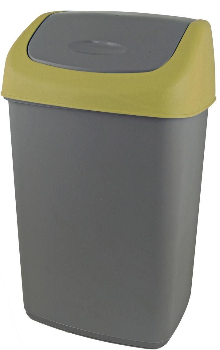 Wäschetonne Abfalleimer Mülleimer mit Deckel 3 Stück Set