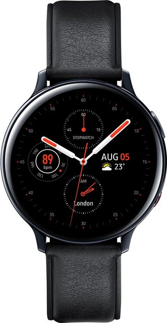 Smartwatches - Samsung Galaxy Watch Active2 Edelstahl, 44 mm, LTE Bluetooth (SM R825) Smartwatch (3,4 cm 1,4 Zoll)  - Onlineshop OTTO