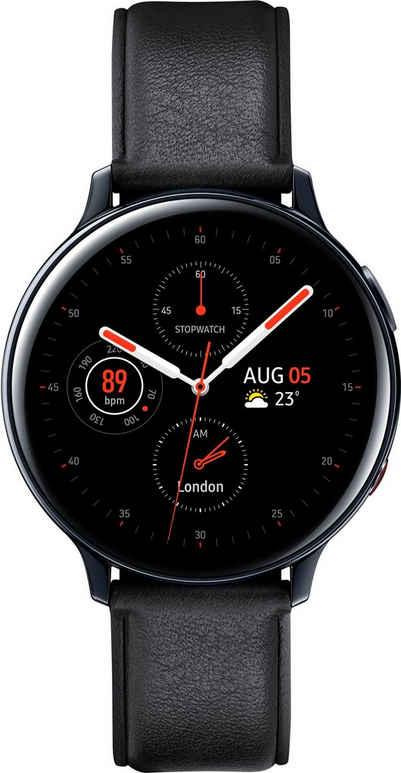 Samsung Galaxy Watch Active2 Edelstahl, 44 mm, LTE & Bluetooth (SM-R825) Smartwatch (3,4 cm/1,4 Zoll)