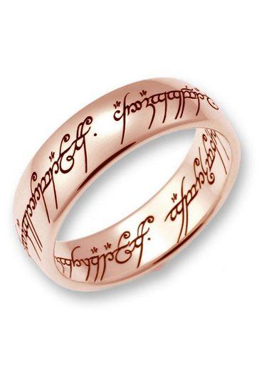Der Herr der Ringe Goldring »Der Eine Ring - Rotgold, 10004077, 10004078, 10004079«, Made in Germany