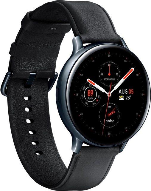 Smartwatches - Samsung Galaxy Watch Active2 Edelstahl, 44 mm, Bluetooth (SM R820) Smartwatch (3,4 cm 1,4 Zoll)  - Onlineshop OTTO