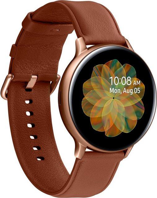 Smartwatches - Samsung Galaxy Watch Active2 Edelstahl, 44 mm, LTE Bluetooth (SM R825) Smartwatch (3,4 cm 1,4 Zoll)  - Onlineshop OTTO