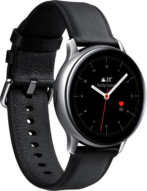 Smartwatches - Samsung Galaxy Watch Active2 Edelstahl, 40 mm, LTE Bluetooth (SM R835) Smartwatch (3 cm 1,2 Zoll)  - Onlineshop OTTO