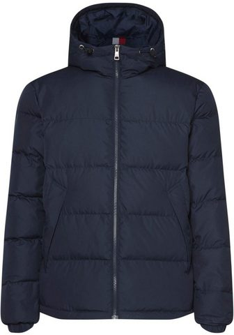 TOMMY HILFIGER Dygsniuota striukė »HOODED BOMBER«