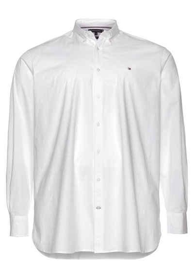 Tommy Hilfiger Big & Tall Langarmhemd »BIG & TALL STRETCH POPLIN SHIRT«