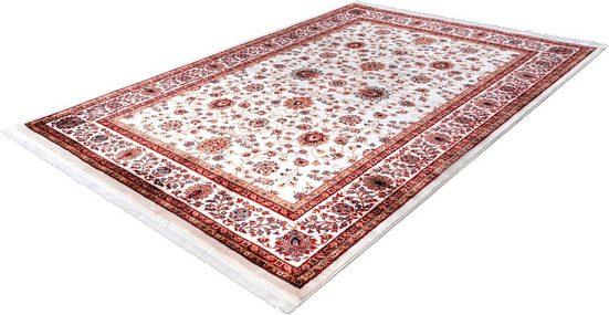 Teppich »Lytza 801«, calo-deluxe, rechteckig, Höhe 11 mm, Orient-Dekor, mit Fransen