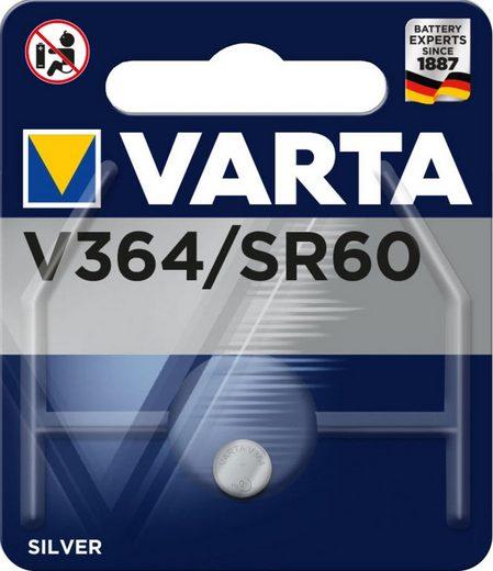 VARTA Batterie »Knopfzellenbatterie Electronics V364 (SR60)«