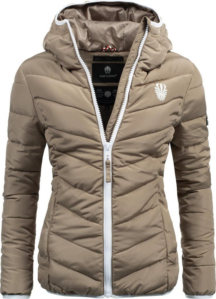purchase cheap 3671b 2ea0a Navahoo Steppjacke »Elva« stylische Damen Winterjacke mit Kapuze