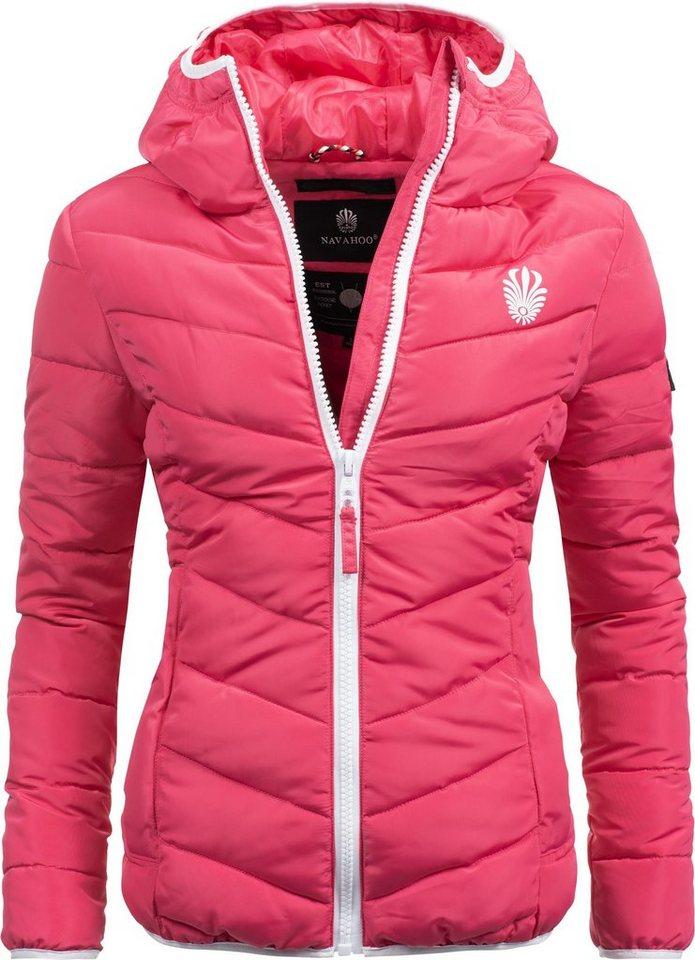 billiger Verkauf bestbewertetes Original neuer Stil Navahoo Steppjacke »Elva« stylische Damen Winterjacke mit Kapuze online  kaufen   OTTO