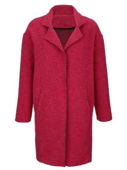 Alba Moda Jacke in trendiger Kochwolle