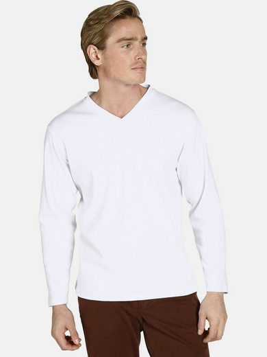 Charles Colby Langarmshirt »EARL CILLIAN« (Packung, 2-tlg., 2er-Pack) komfortables Basic-Shirt