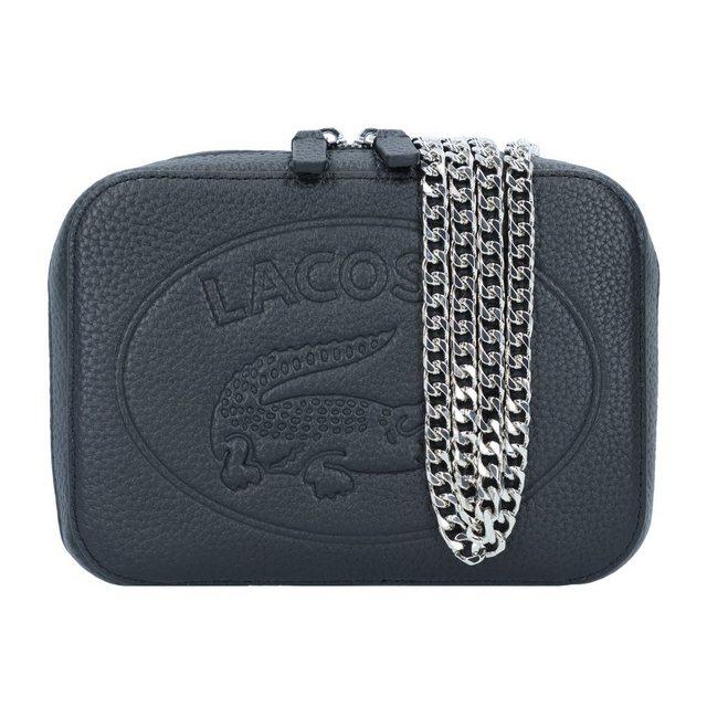 Lacoste Croco Crew Umhängetasche Leder 18 cm   Taschen > Handtaschen   Lacoste