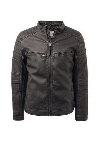 TOM TAILOR Байкерские куртка »Bikerjacke из...