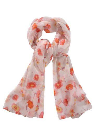 J.Jayz Modeschal Leichter Schal mit Blumenprint