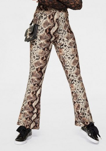 HaILY'S Leggings »LAYLA« in trendy Animal Print