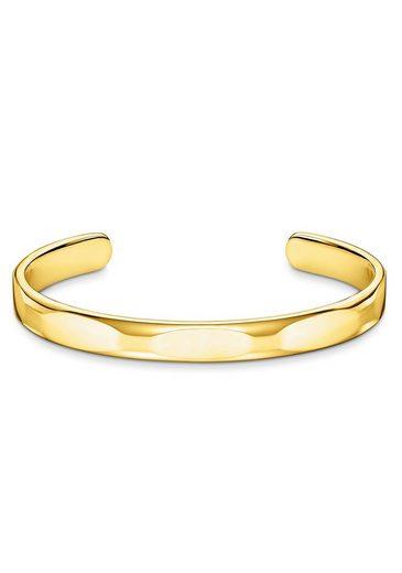 THOMAS SABO Armreif »Schmal puristisches Gold, AR098-413-39-L16, L17«