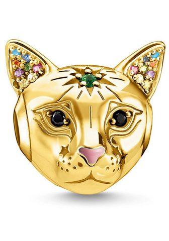Бусинка »Katze gold K0327-471-7&...