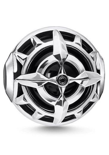 THOMAS SABO Bead »Kompass schwarz, K0335-641-11« mit Onyx und Zirkonia