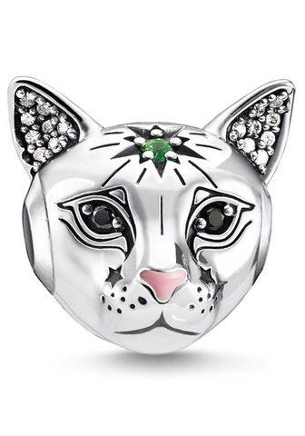 Бусинка »Katze silber K0326-845-...