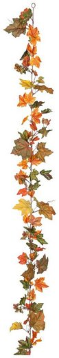 Kunstpflanze »Ahornlaub-Girlande«, Höhe 180 cm