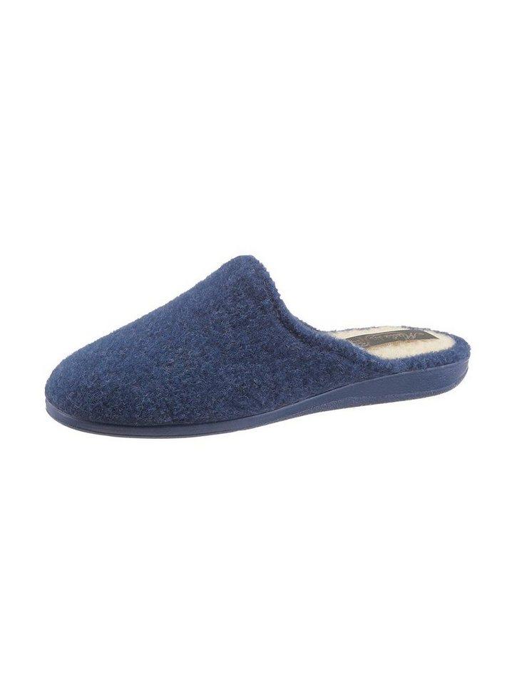 Hausschuhe - Classic Pantoffel › blau  - Onlineshop OTTO