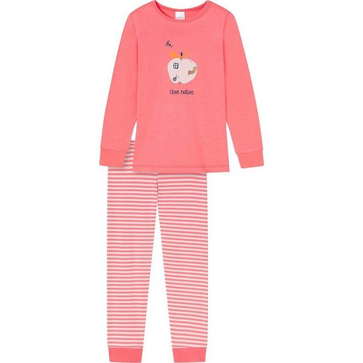 Schiesser Schlafanzug »Schlafanzug für Mädchen«