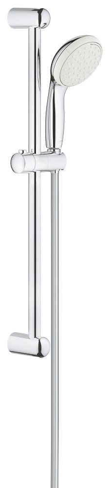 Grohe Brausegarnitur »Tempesta 100«, Höhe 62 cm, 2 Strahlart(en), 3 tlg., mit 2 Strahlarten, 100mm