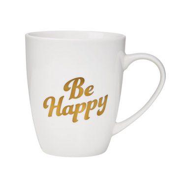 BUTLERS WHITE XMAS »Tasse Be Happy 350 ml«