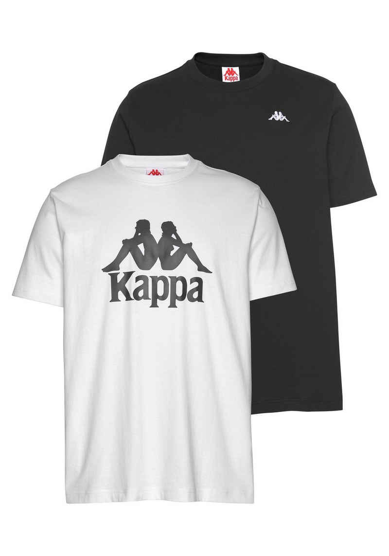 Kappa T-Shirt »VILLEST 2« (Packung, 2er-Pack) im Doppelpack