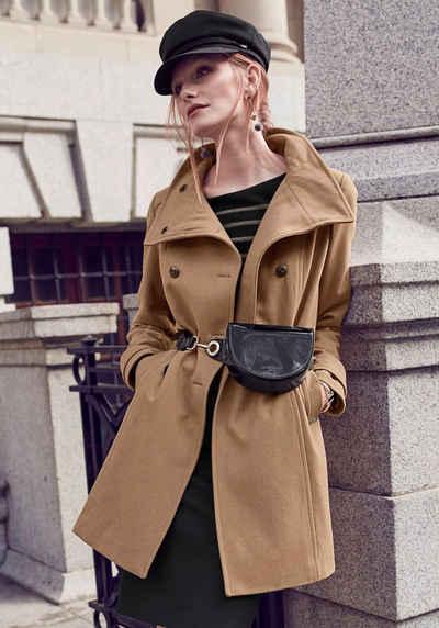 sale retailer 421a8 ddeb7 Mantel in beige online kaufen | OTTO