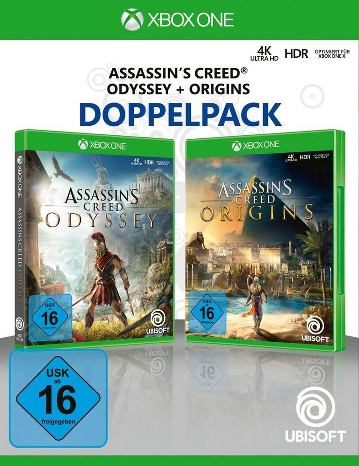 Assassin's Creed Odyssey + Origins Xbox One, Doppelpack