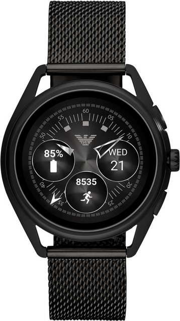 Smartwatches - EMPORIO ARMANI CONNECTED ART5019 Smartwatch (1,19 Zoll, Wear OS by Google)  - Onlineshop OTTO