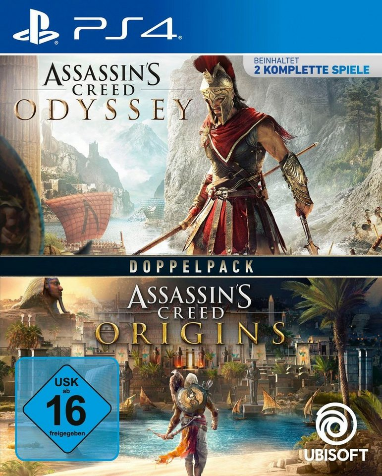 Assassin's Creed Odyssey + Origins PlayStation 4, Doppelpack