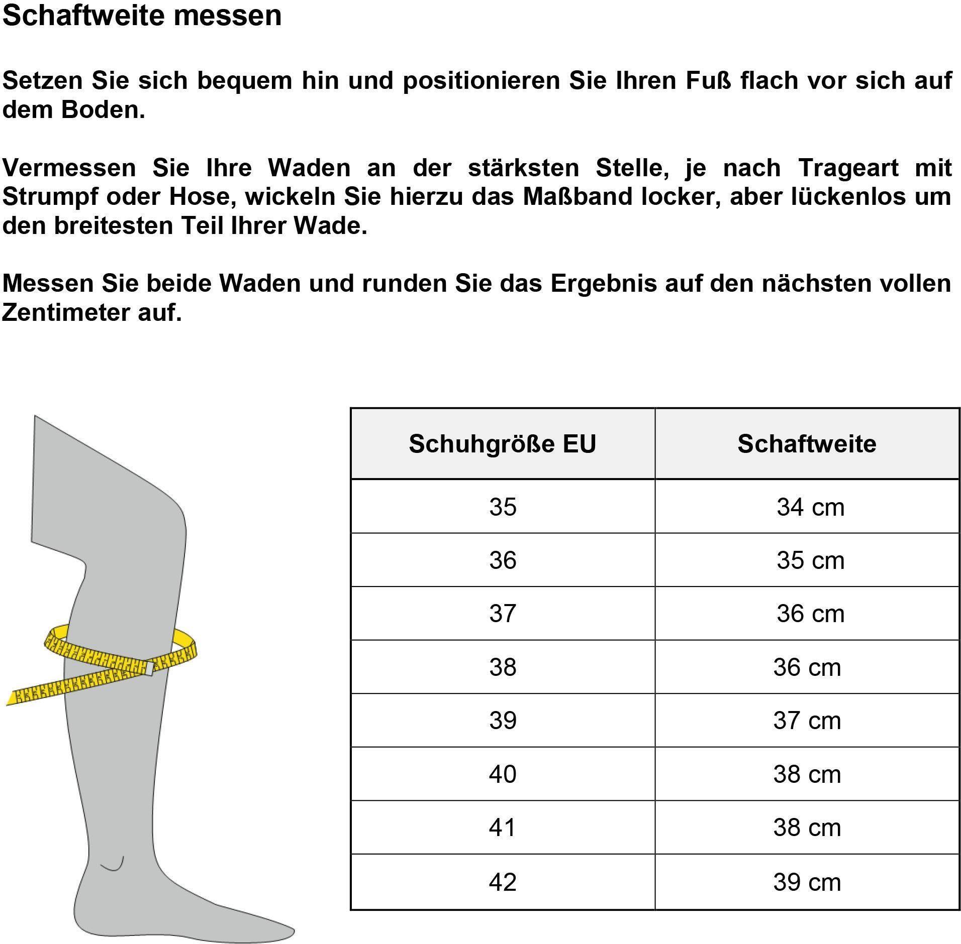 Varioschaft Mjus Dank Schnürstiefel Mit Schnürung DE9H2I