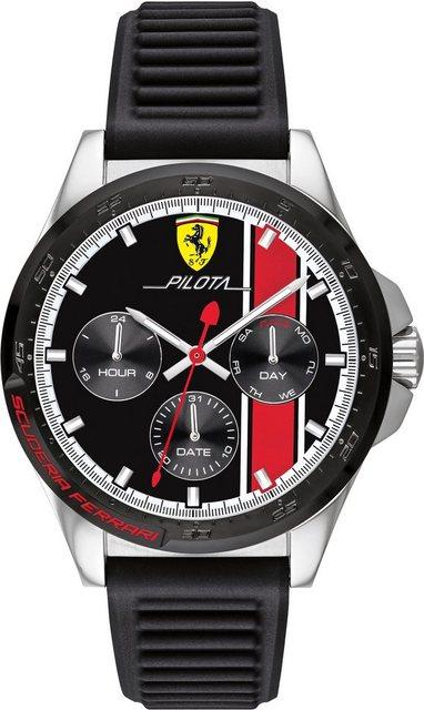 Scuderia Ferrari Multifunktionsuhr »PILOTA, 830661« | Uhren > Multifunktionsuhren | Scuderia Ferrari