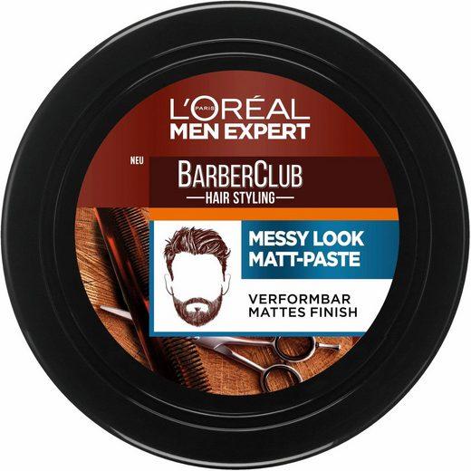 L'ORÉAL PARIS MEN EXPERT Haarpomade »Barber Club Messy Look Matt Paste«