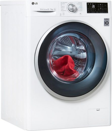 LG Waschtrockner Serie 5 F14WD85TN1, 8 kg/5 kg, 1400 U/Min, mit WiFi & Aqua Control