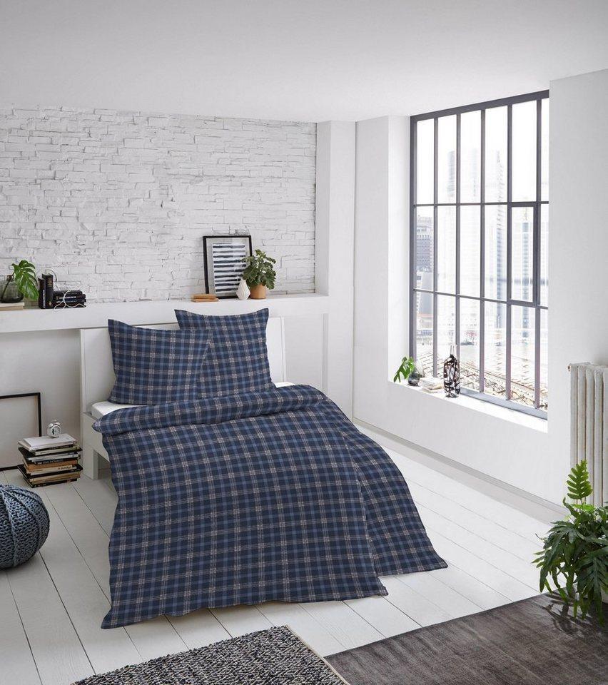 Bettwäsche »Karo«, Dormisette, in klassischen Farben online kaufen | OTTO