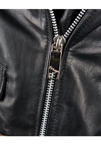 MAZE Motociklininko stiliaus striukė Odinė ...