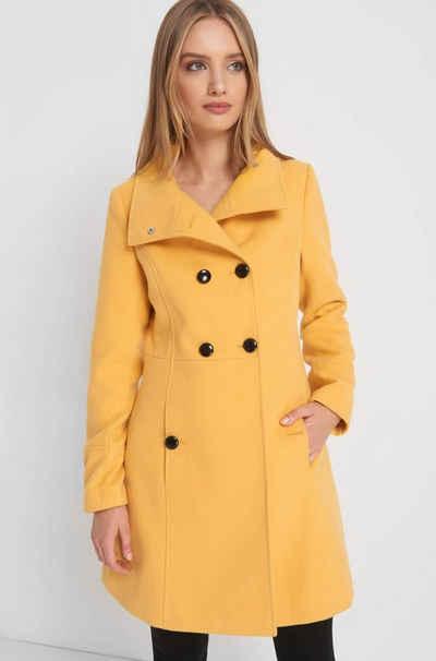 new concept c575f 23f18 Mantel in gelb online kaufen | OTTO